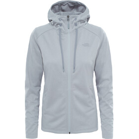 The North Face Tech Mezzaluna Hoodie Damen tnf light grey heather